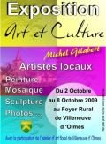 Exposition Michel GILABERT